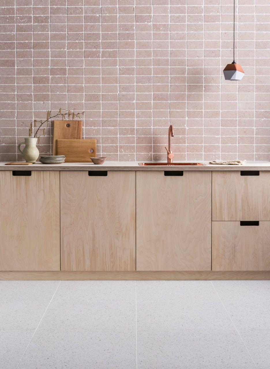Rosa Perlino Tumbled Marble Tiles | Mandarin Stone