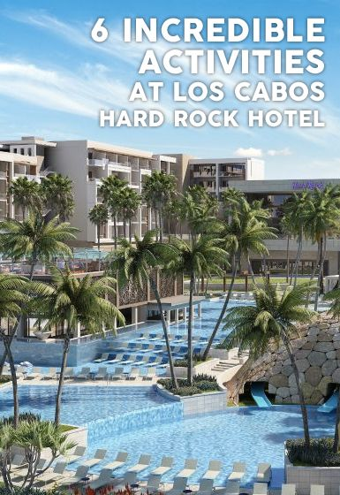 6 Amenities Kids Will Flip Over at Hard Rock Hotel Los Cabos