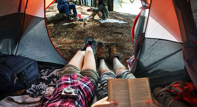 7 Ways to Save Money on a Camping Trip...Ready to tackle the great outdoors? Here's how to enjoy camping without putting a huge dent in your travel budget.