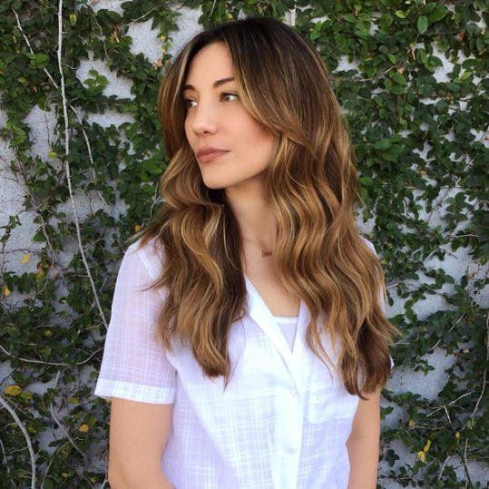 Hair Colors That'll Instantly Make You Look Younger: Golden Chocolate