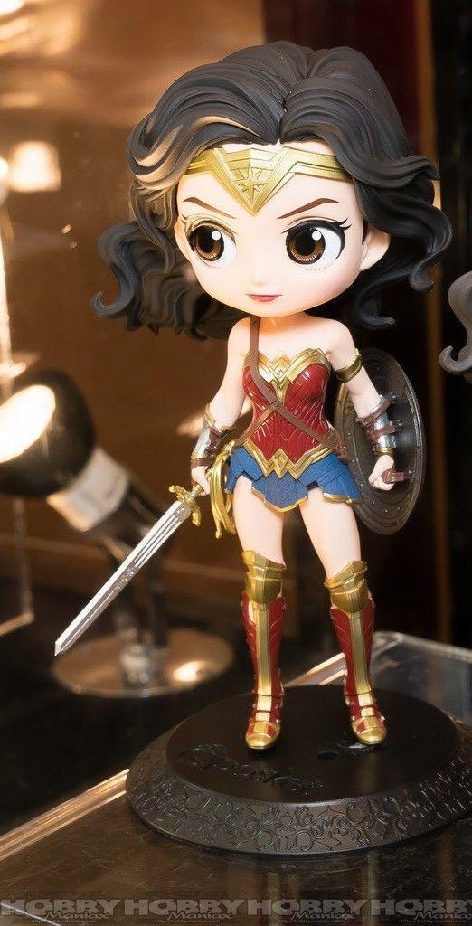 WONDER WOMAN Normal Colour Banpresto DC Comics Q Posket Justice League