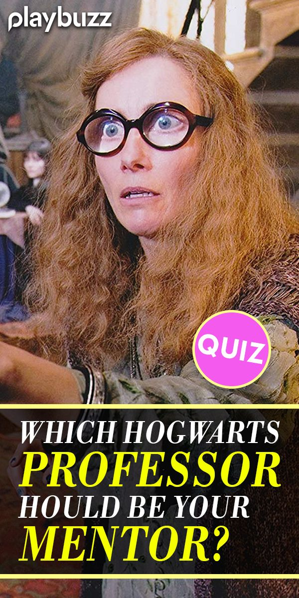Which Hogwarts Professor Should Be Your Mentor?