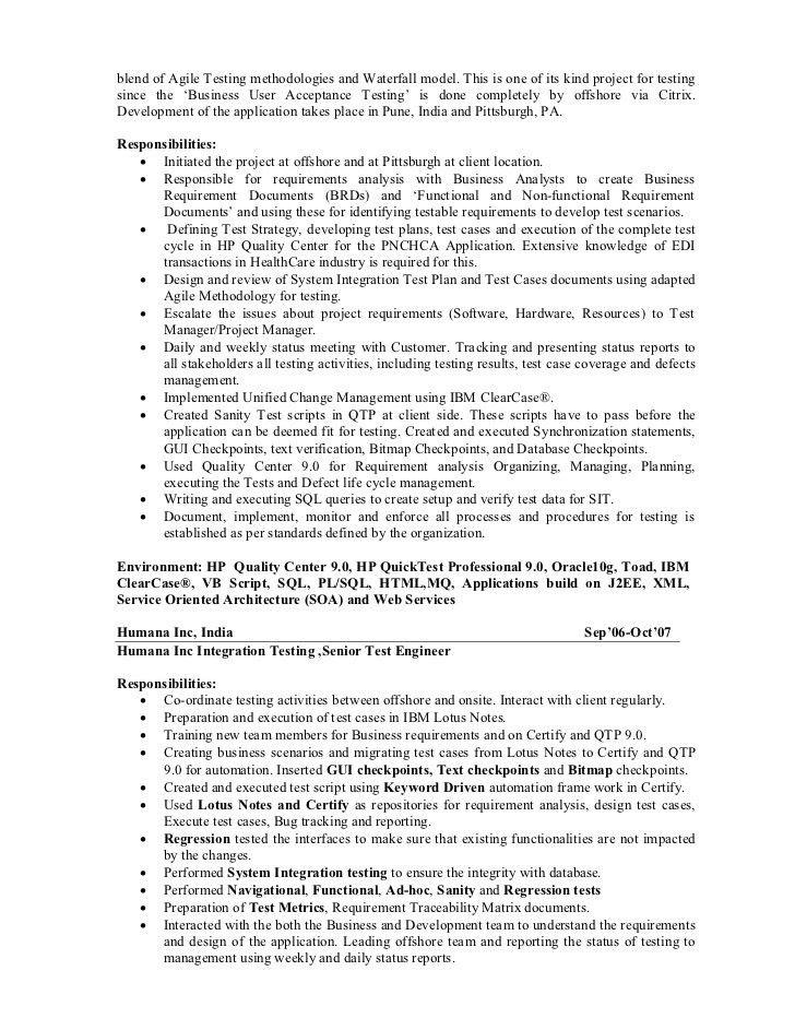 Senior Automation Engineer Sample Resume] Senior Automation ...