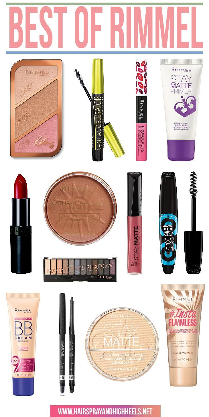 Bookmark this! The Best Rimmel Products all in one spot!