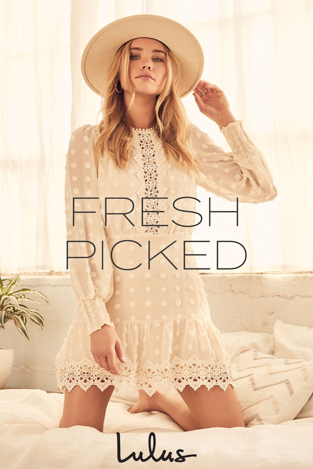 Make this spring as soft and sweet as possible - think dreamy detailing, pastel hues and pretty prints.
