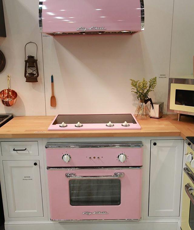 Lemonade Pink Retro Appliances 😍