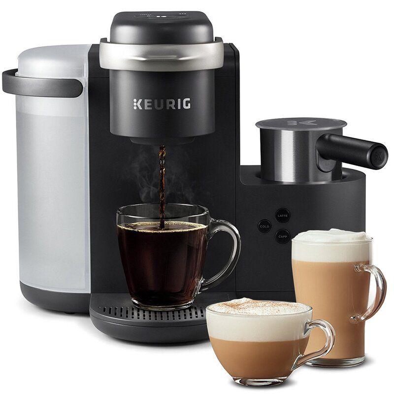 Keurig K-Cafe, Single Serve K-Cup Pod Coffee, Latte, & Cappuccino Maker