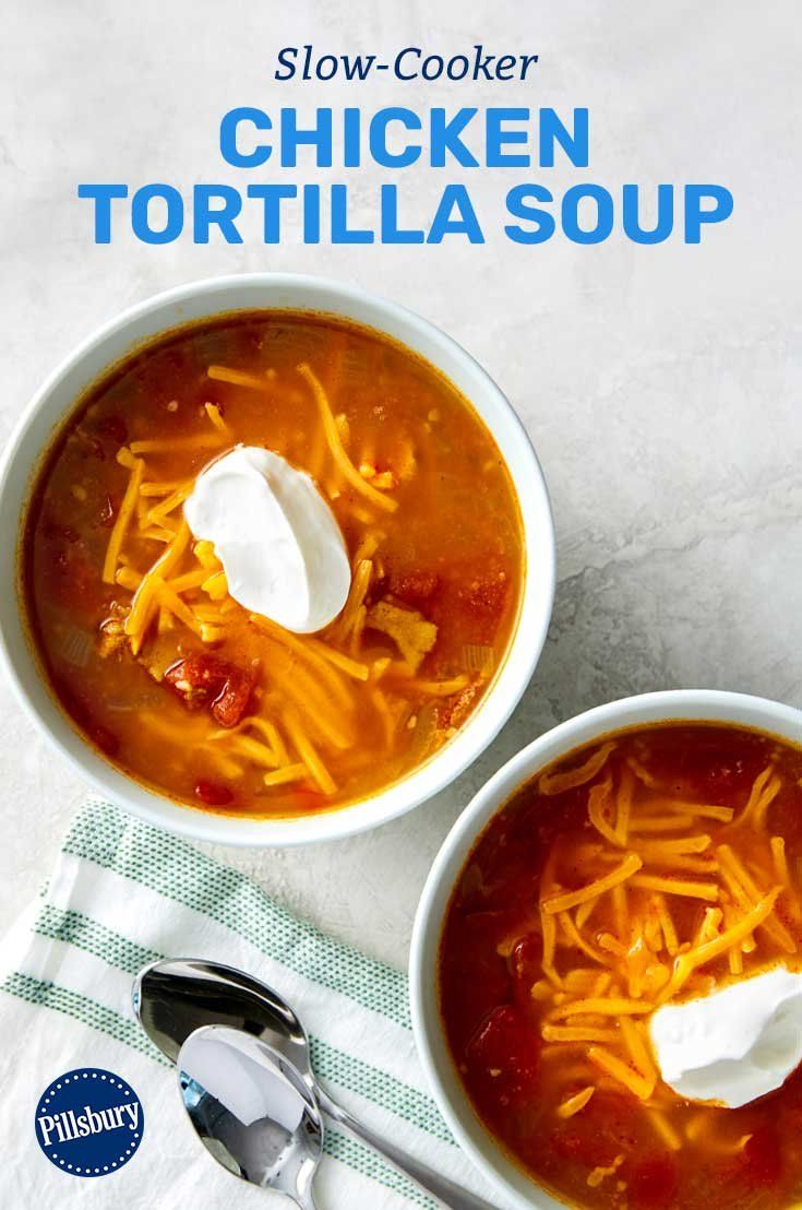 Need something hearty that makes the whole family happy? This simple soup made with classic Tex-Mex flavoring, chicken and tortillas is as filling as it is fun.