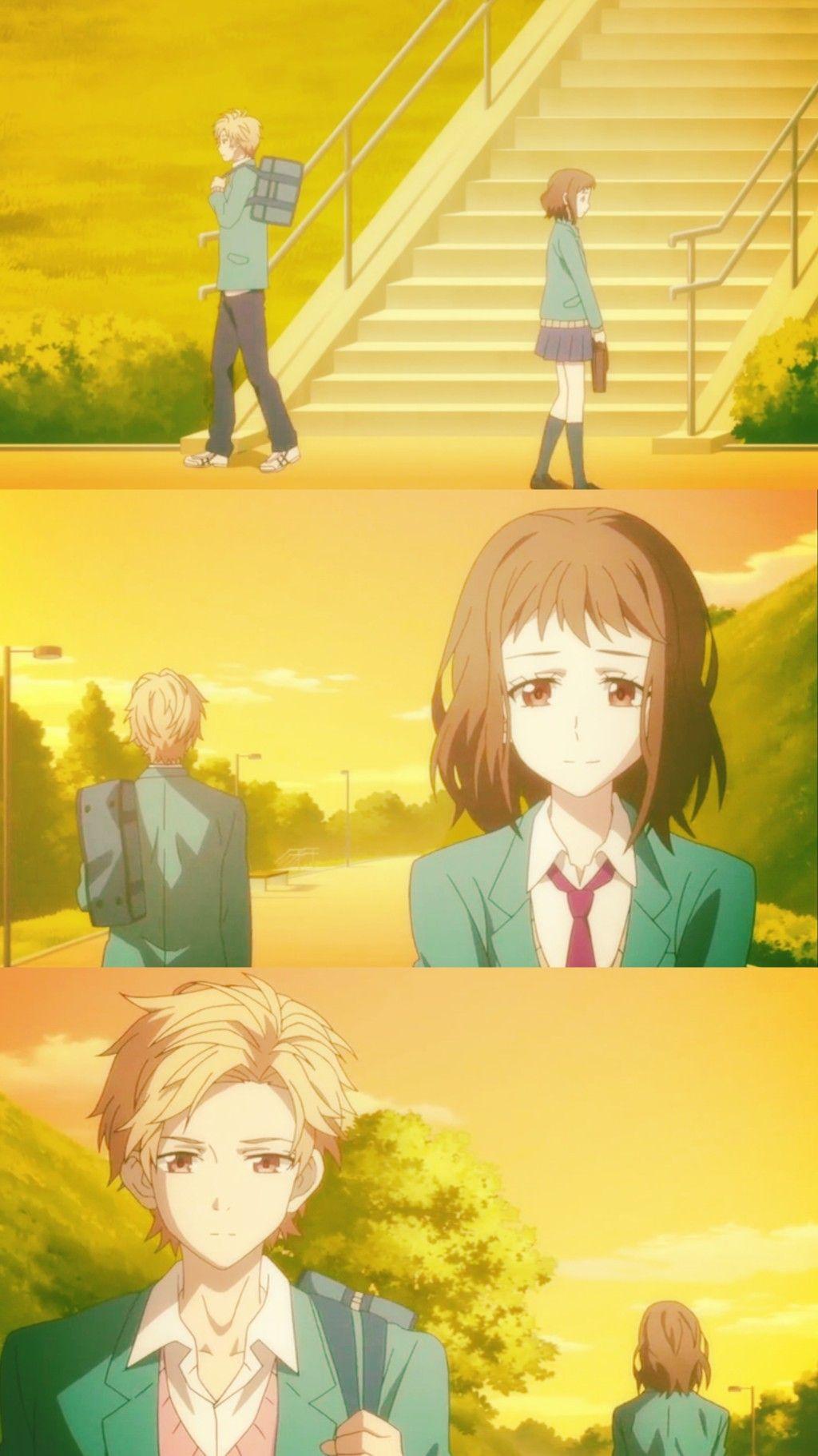 Haruki X Miou Our Love Has Always Been 10 Cm Apart Romantic Anime Best Romance Anime Anime Romance