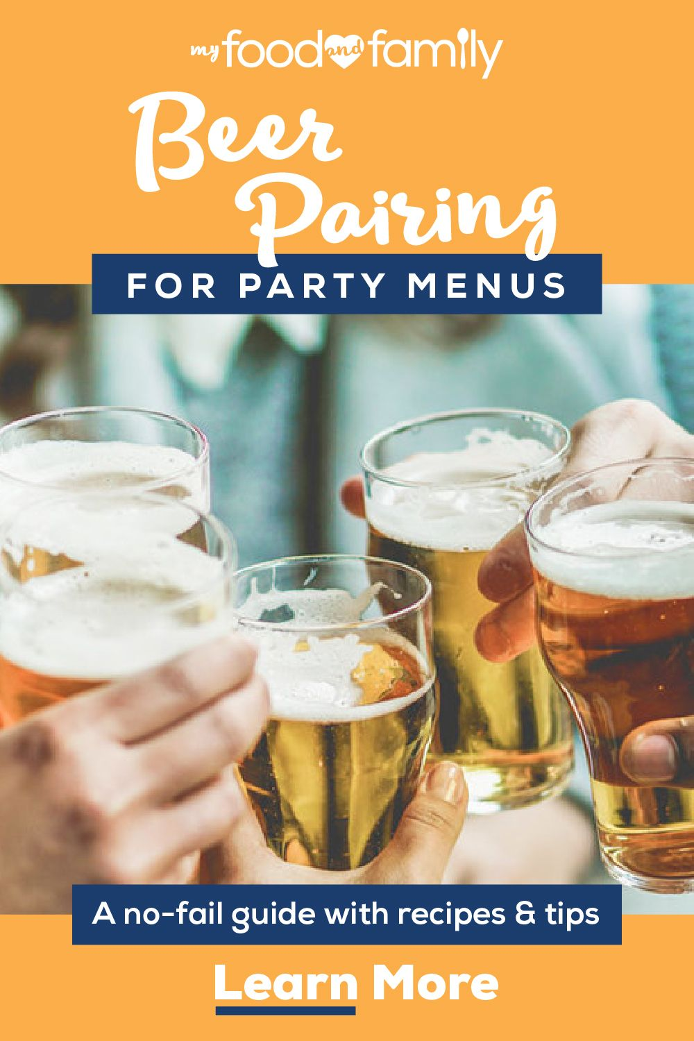 A Guide to Beer Pairing for Party Menus