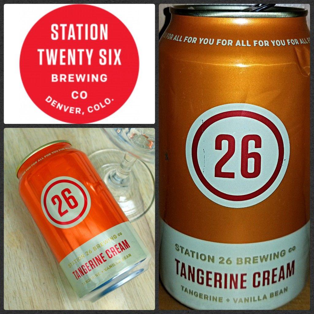 1208 Tangerine Cream Station 26 Brewing Aurora Co Craft