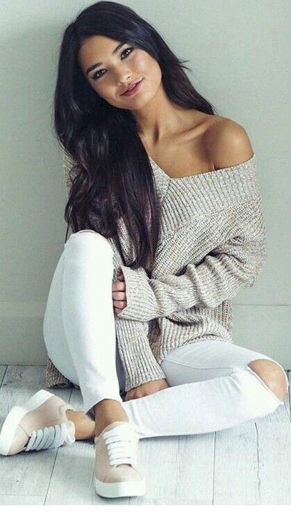 Simple outfit, beautiful look