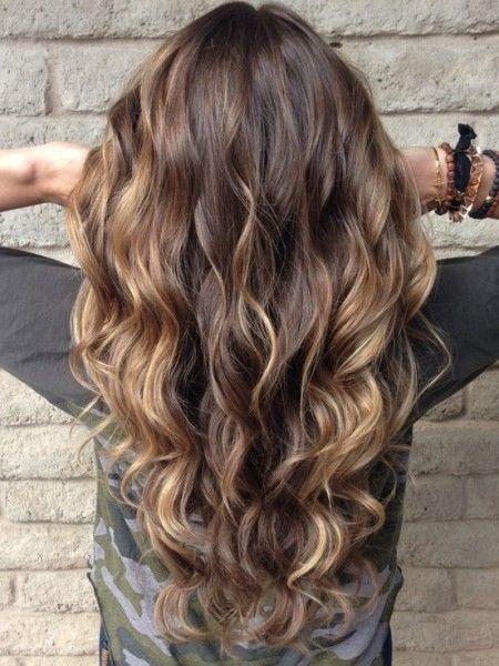 highlights for dark brown hair