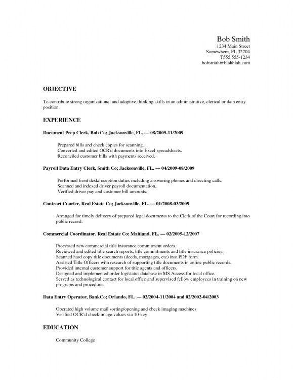 barista resume template