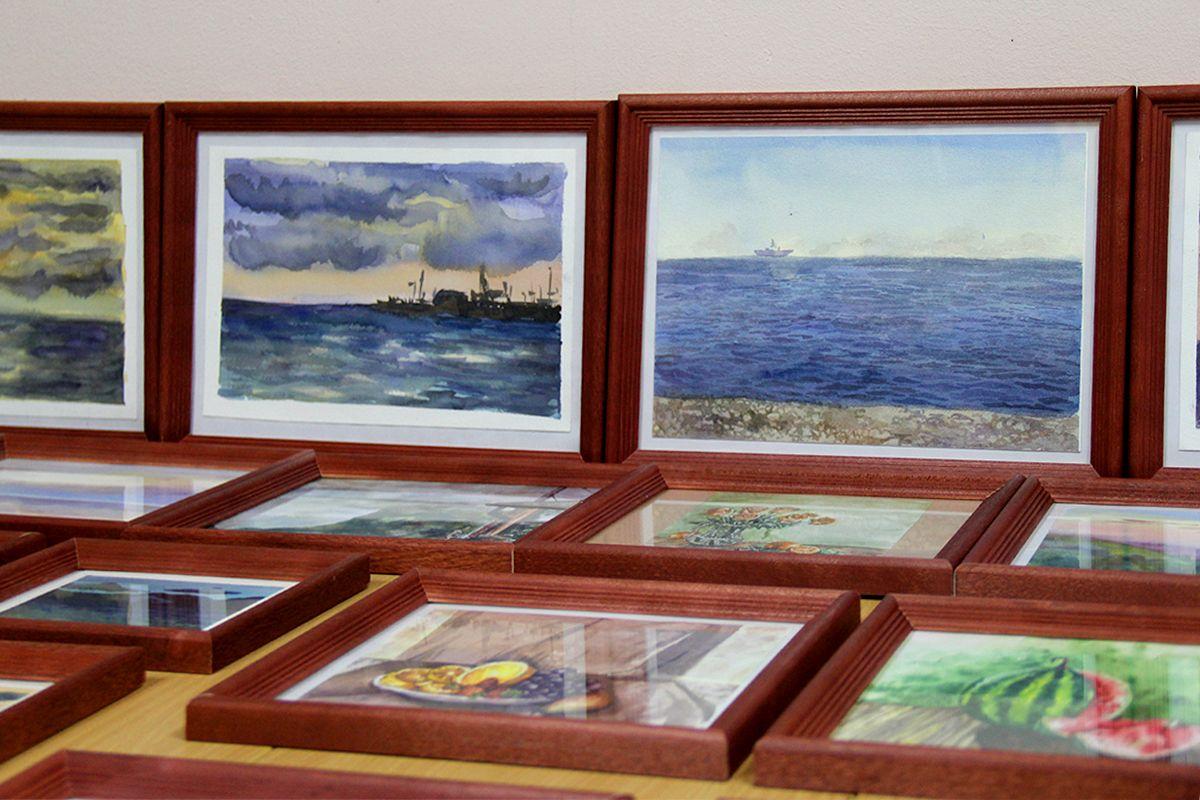 Картины с экспозиции