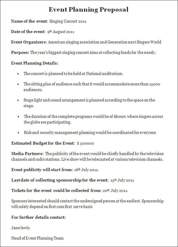 Event Proposal Sample Event Proposal Template 12 Free Word Excel - event proposal template