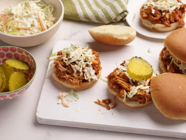 Recipe of the Day: Slow-Cooker Freezer-Pack BBQ Chicken Sandwiches | Chicken thighs stay tender and juicy, even after hours of slow-cooking. And the rich, sweet and low-on-spice sauce is a guaranteed family-pleaser. Make a couple of batches to keep in the freezer for busy weeks.
