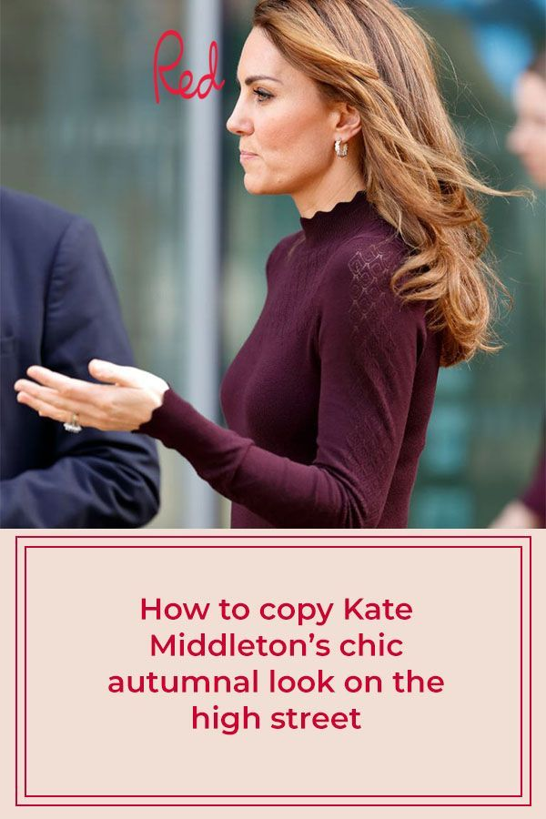 Get Kate Middleton's chic autumnal look for less
