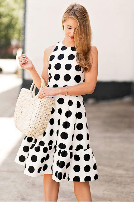 I want a polka dot dress like this