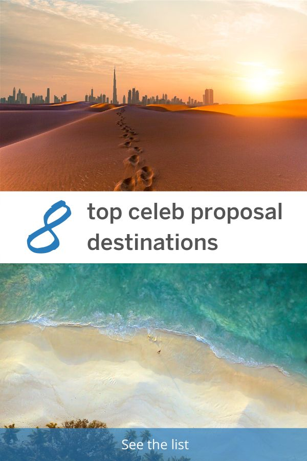 8 of the best celebrity proposal destinations