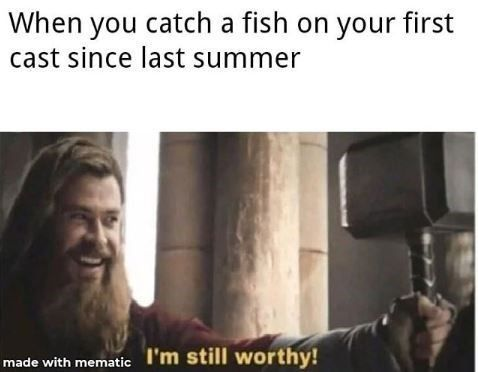Fishing memes full of fire puns! #Fishing #Memes #OutdoorSports #Outdoors