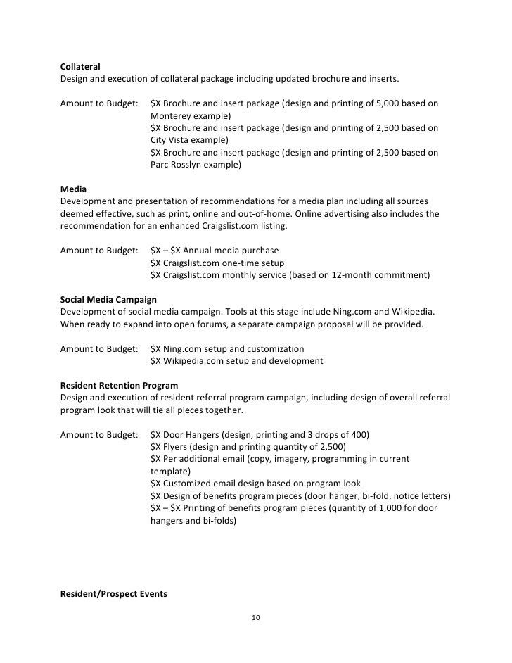 Marketing proposal template 15 free sample example format college - purchase proposal sample