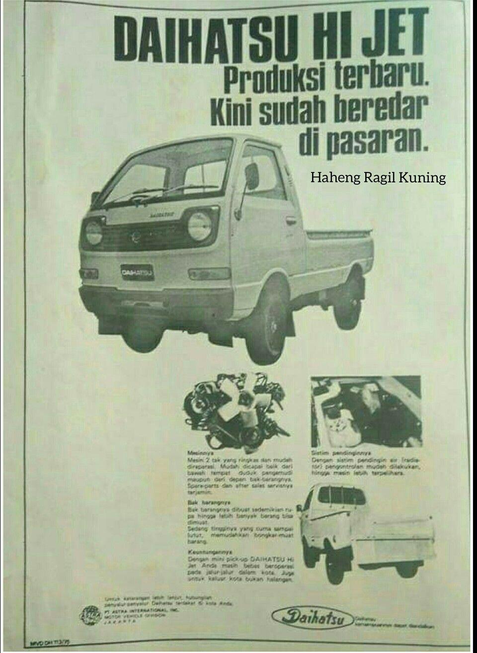 Iklan Daihatsu Hijet S38p Daihatsu Indonesia