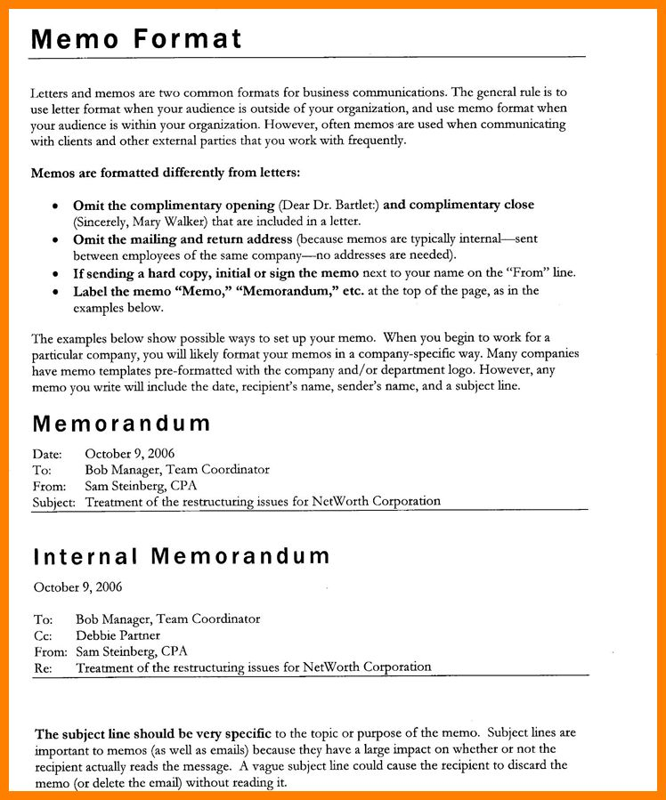 Delighted Audit Memo Template Photos  Example Resume And Template