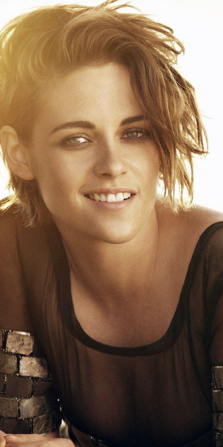 breathtaking wallpaper Kristen Stewart gorgeous smile outdoor 10802160 wallpaper