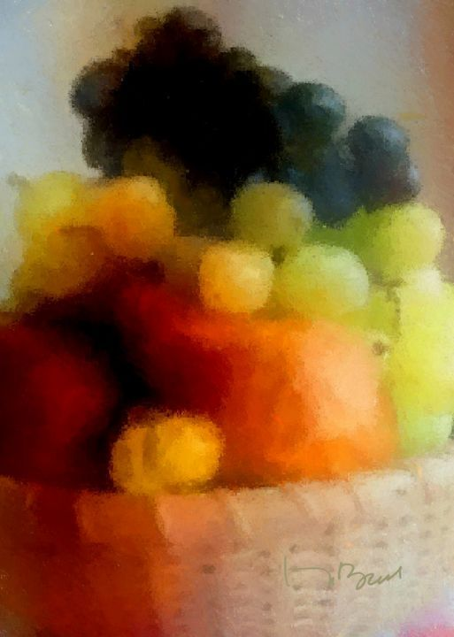 Pixeled Fruit - Don Berg
