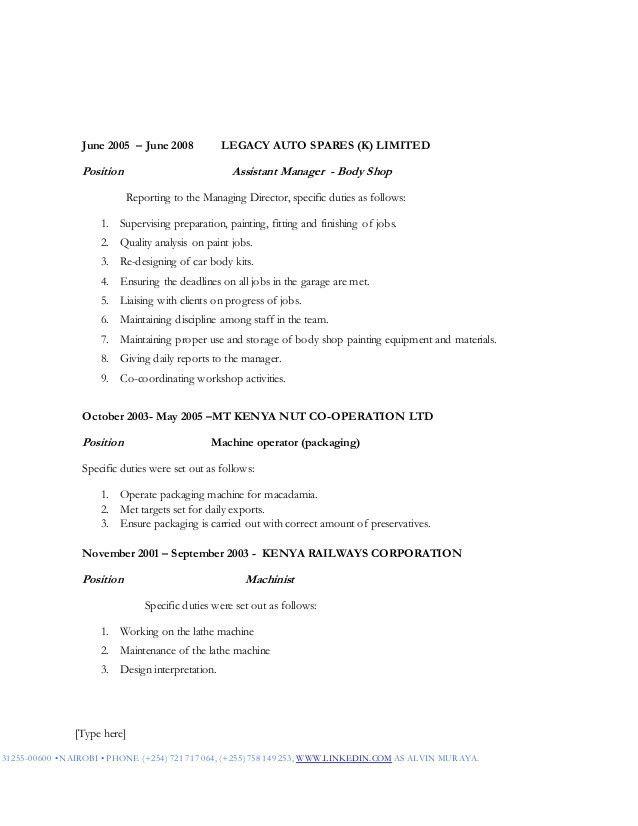Finishing Manager Sample Resume Finishing Manager Sample Resume