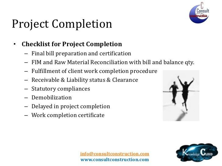 Project Completion Certificate Format Project Completion - certificate of construction completion