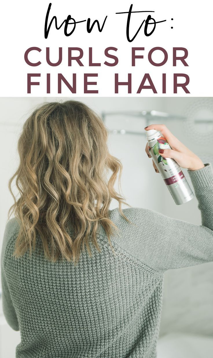 How to: curls for fine hair. Curls and volume with favorite #HerbalEssences products from @Walmart! #JoytoYourHair #ad