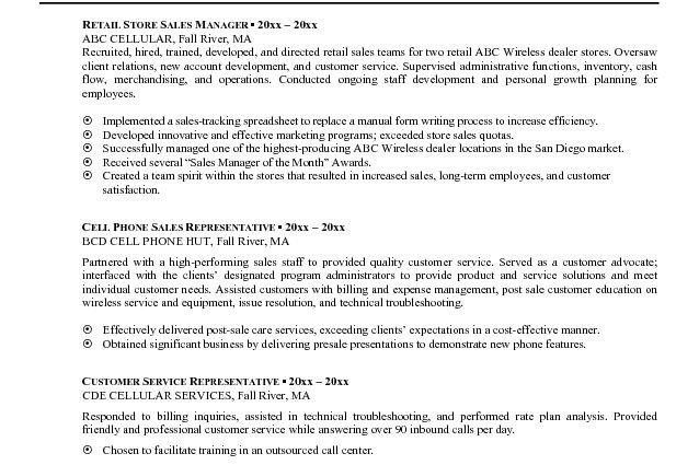 Examples Of Summary In Resume - Examples Of Resumes
