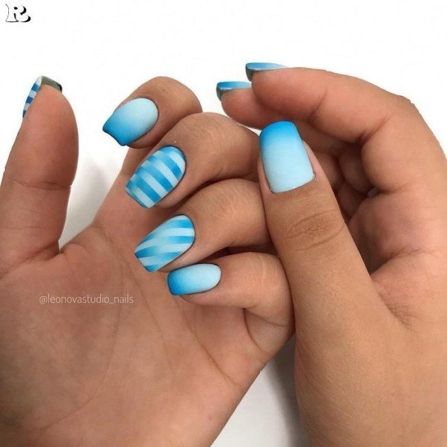 40 Gorgeous Ombre Nail art 2019 – Reny styles