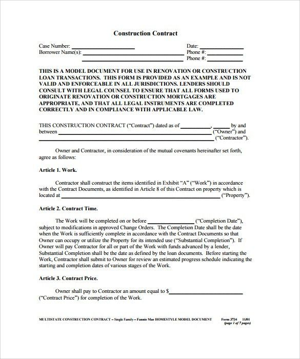 Sample Contract Summary Template Sample Contract Summary Template - contract summary template