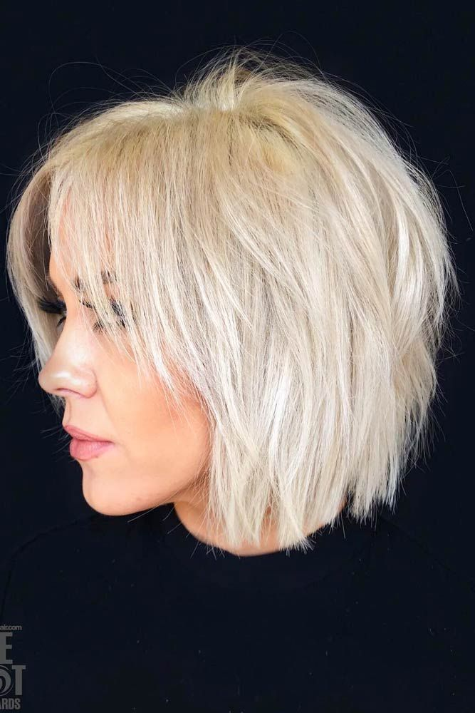 Shaggy Bob Cut #shaggybob #layeredbob ★ In case you would like to discover the most popular short layered haircuts, we can assure you that this post will make you really happy.  #layeredhaircuts #shortlayeredhaircuts #layeredhair #shorthair
