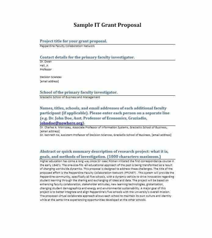 Grant Cover Letter Example] Grant Proposal Cover Letter Great Cover ...