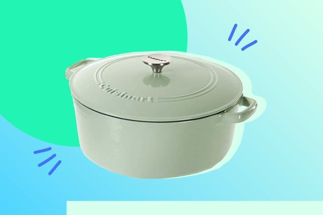 Today Only! Cuisinart Enamel Cookware Is 46% Off
