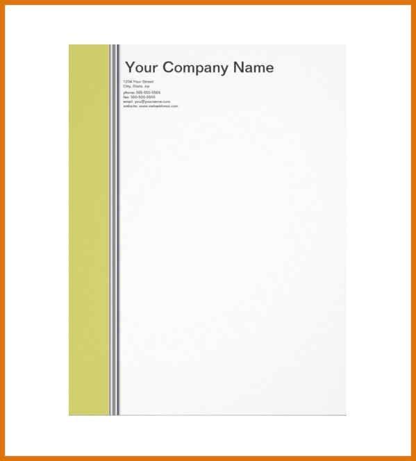 Construction Company Letterhead Template 10 Construction Company - personal letterhead template