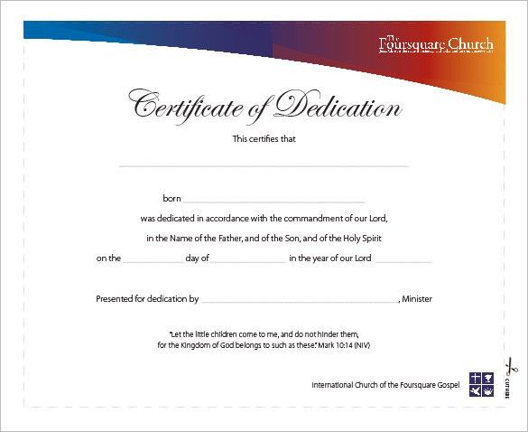 Baby dedication certificate template baby dedication certificates baby birth certificate template birth certificate template 31 baby dedication certificates templates baby dedication certificate yadclub Gallery