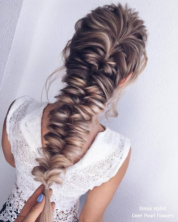 Long Wedding hairstyles from xenia_stylist #weddingideas #weddinghairstyles #hairstyles #longhairstyles