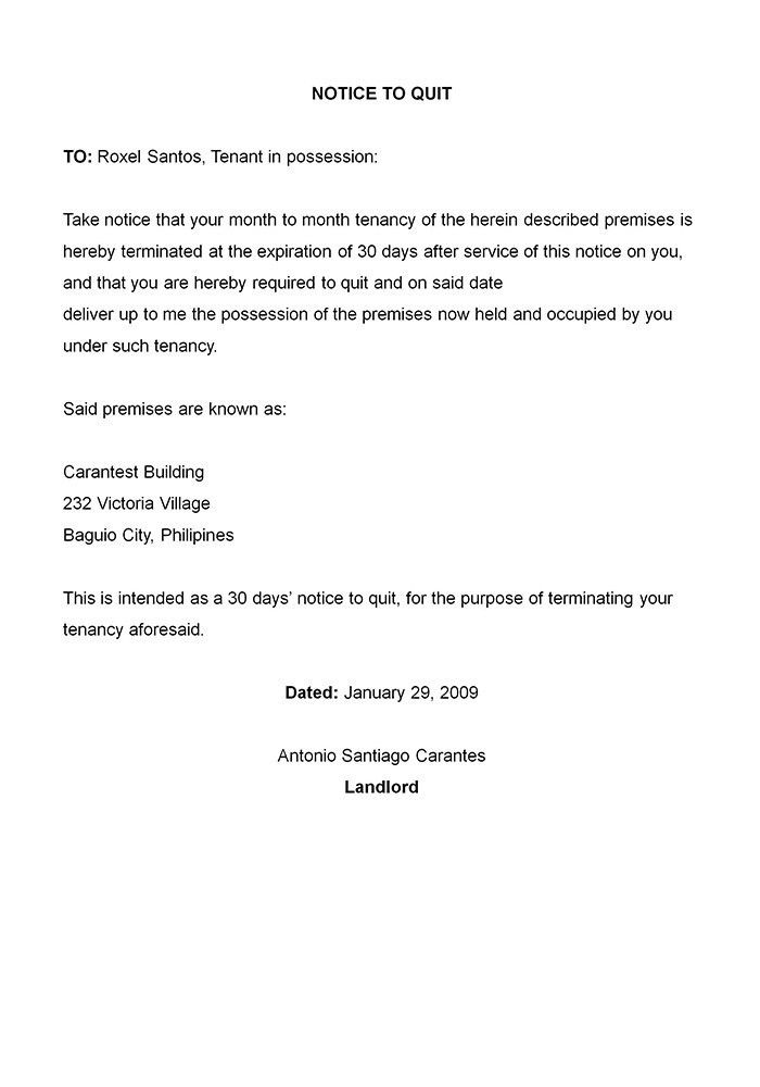 Medical Termination Letter Free Termination Letter Template 11 - lease termination letter example