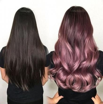 38+ trendy hair ombre lavender rose gold
