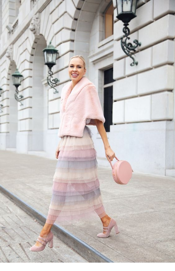 Sweet light pink outfit inspire