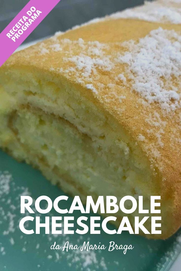Rocambole cheesecake