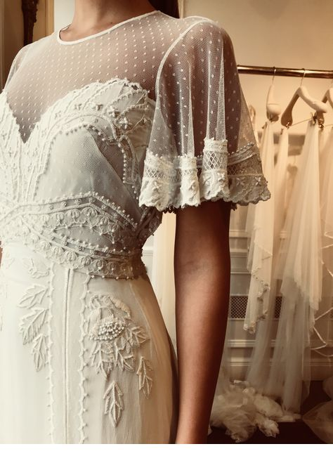 Cool boho wedding dress design