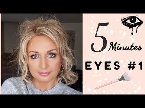 5 Minutes Eyes #1 / Mature Hooded Eyes – YouTube