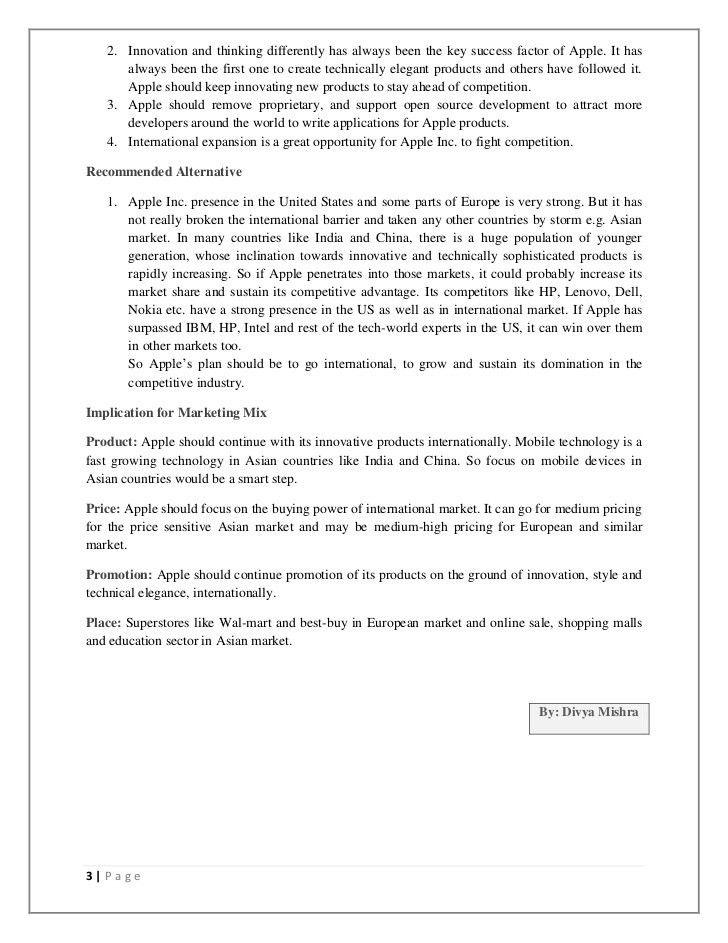 apa format executive summary template