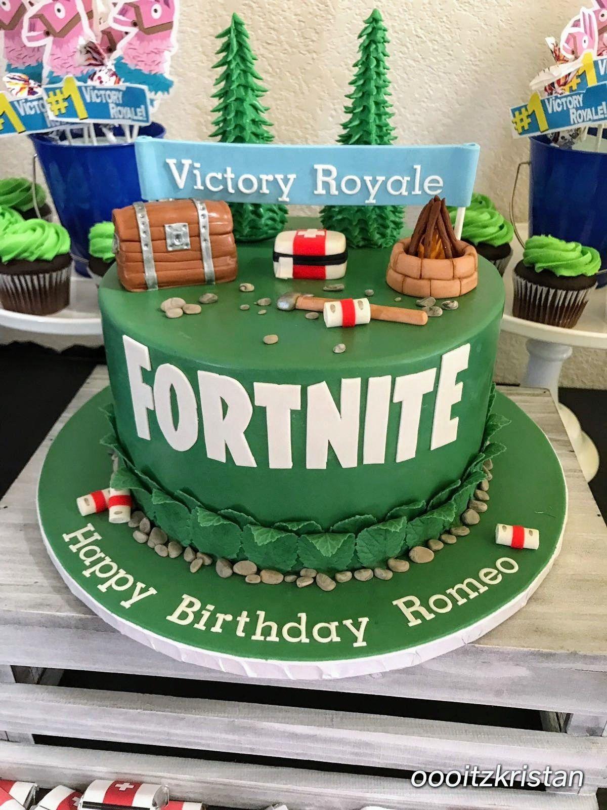 Fortnite Birthday Cake Birthday Cake Kids 13 Birthday Cake Boy